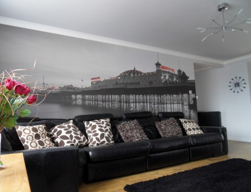 Palace Pier Wallpaper Mural Brighton