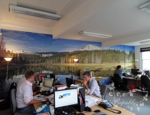 Brighton Office Wallpaper Mural