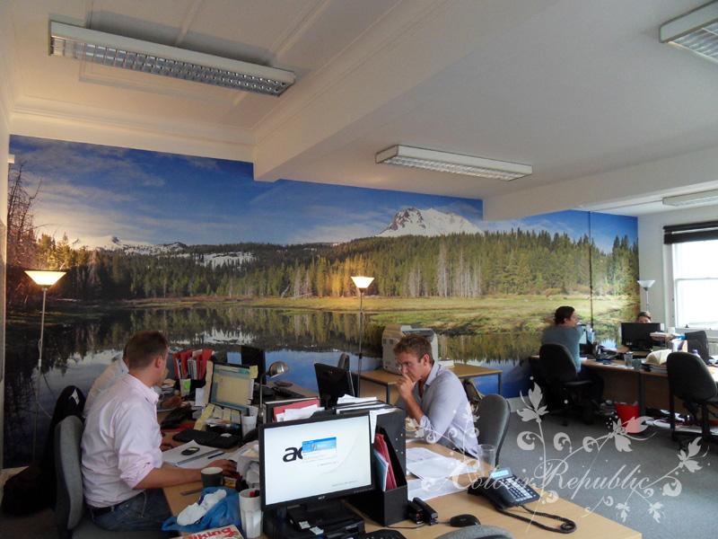 Office wallpaper mural Brighton