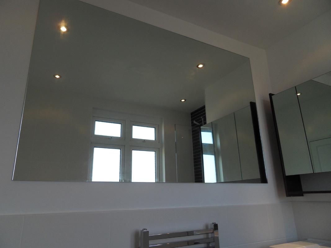 Large Custome Sized Bathroom Mirror Brighton