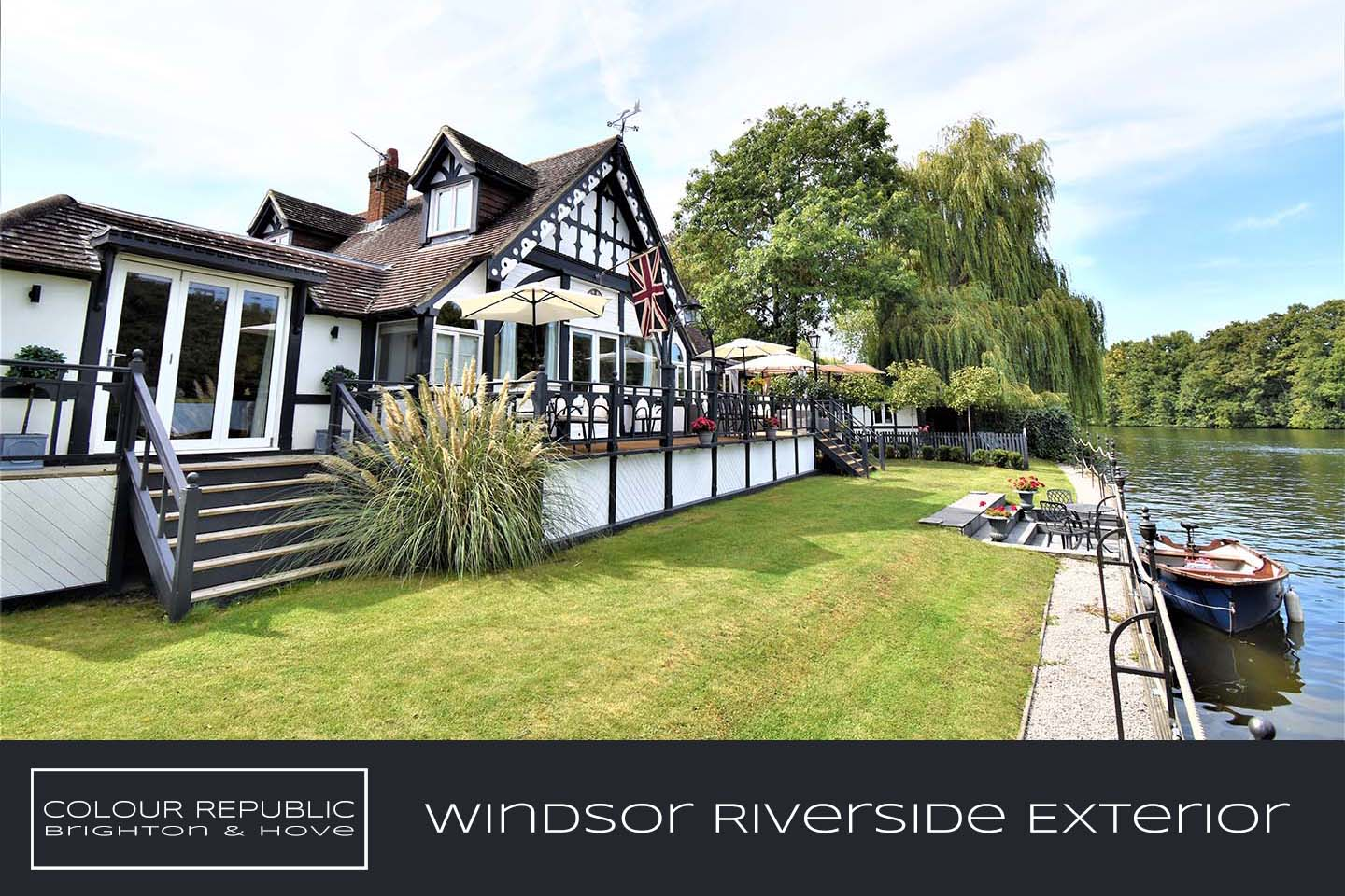 Windsor Riverside Refurbishment Exterior