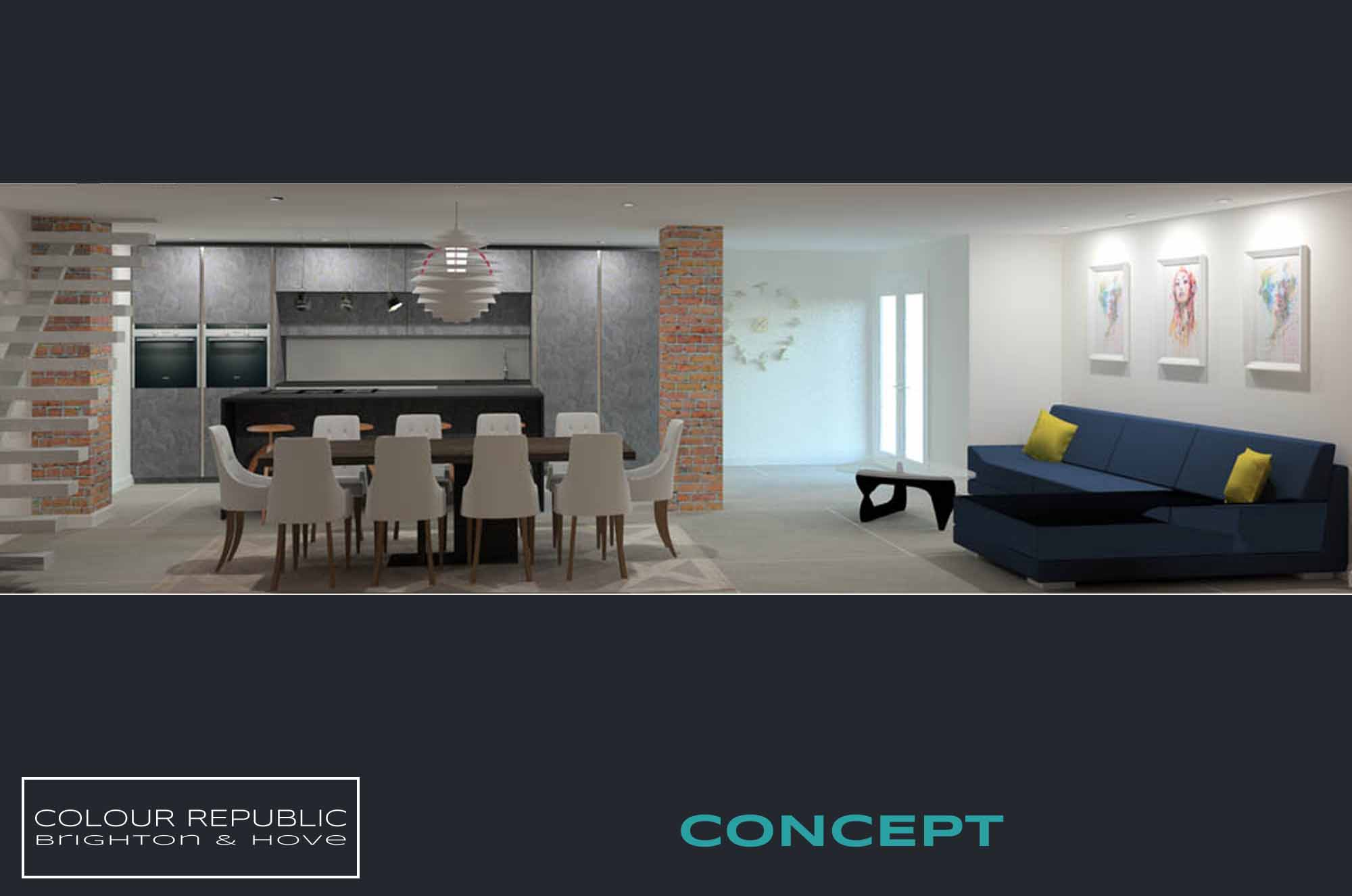 Brighton Kitchen Concept 1