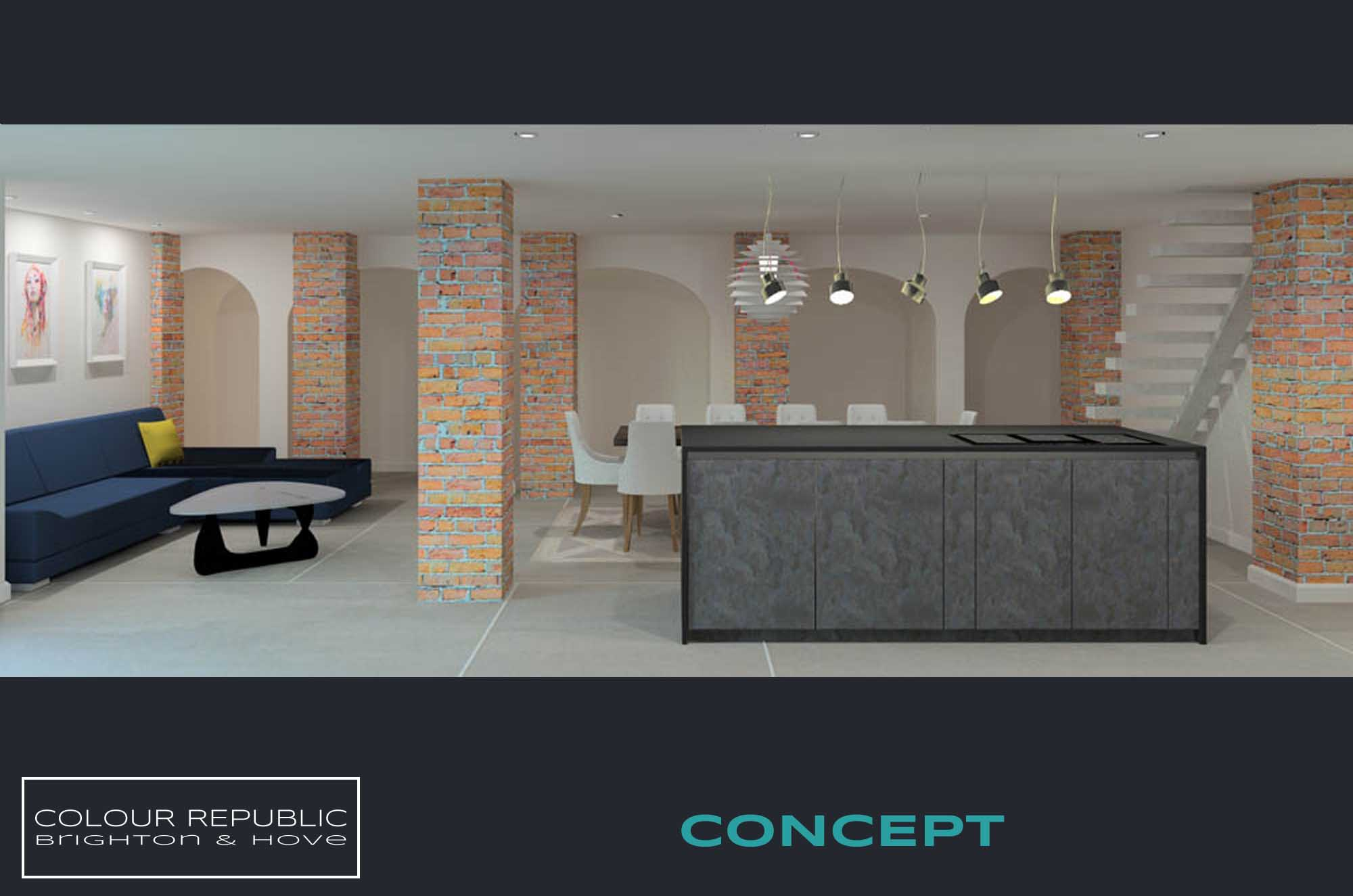 Brighton Kitchen Concept 2