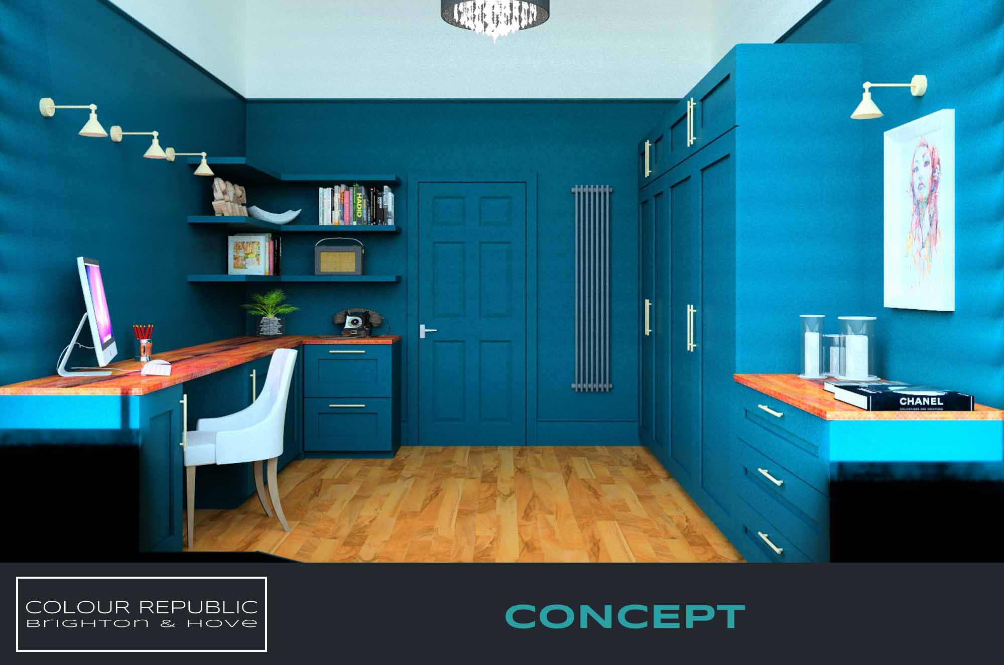 Home Office Concept 1