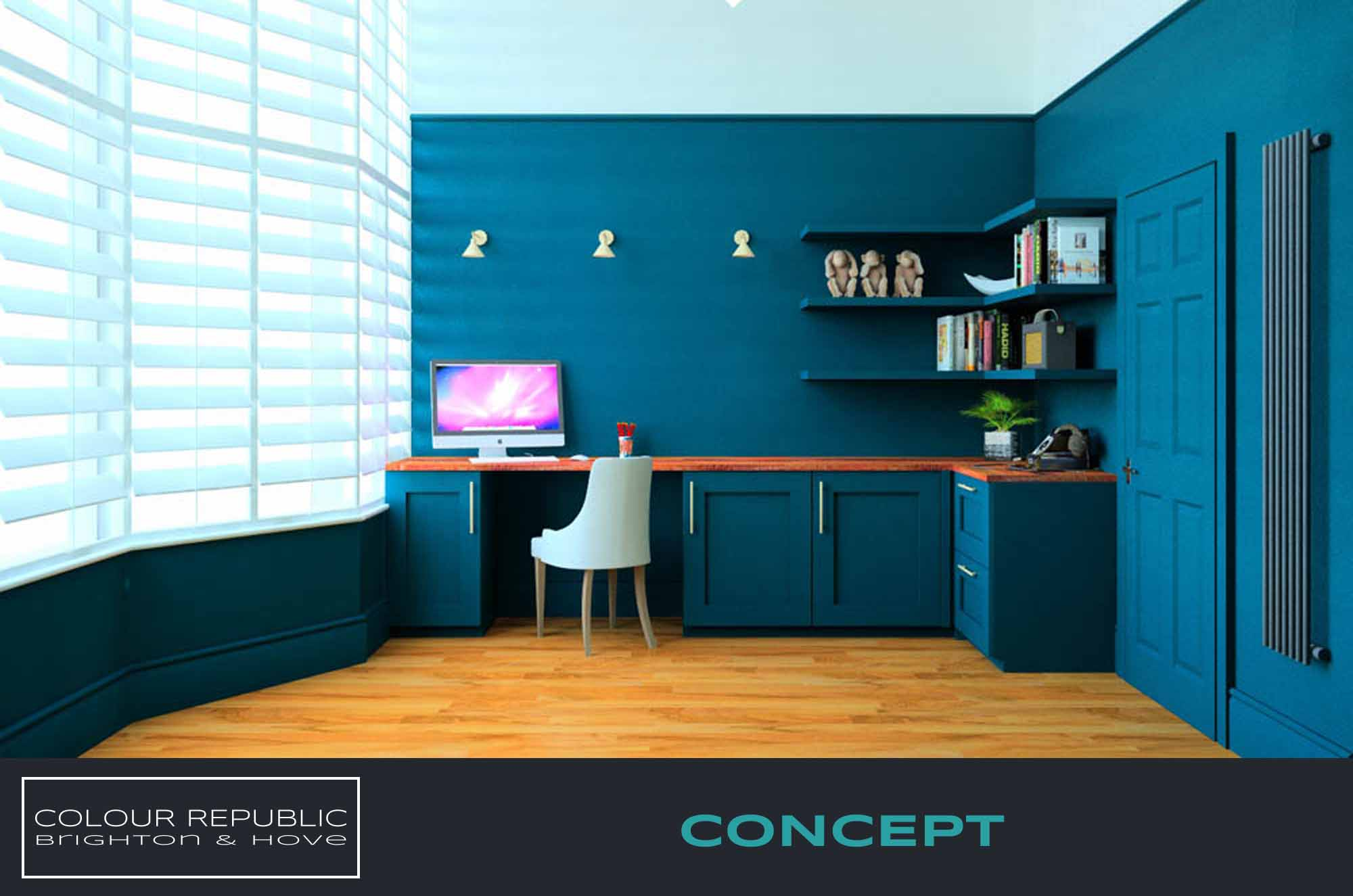 Home Office Concept 3